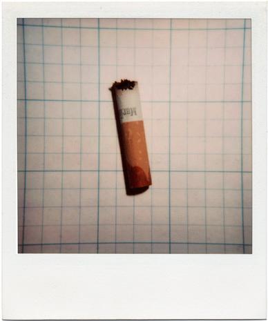 Cigarette No. 1 (r&eacute;ponse &agrave; Irving Penn&rsquo;s <em>Cigarettes</em>)
